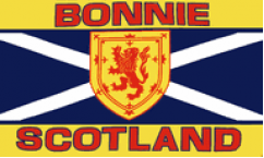 Bonnie Scotland Flags